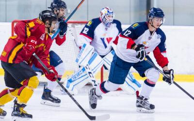 HC Slovan Bratislava s HC Topoľčany – hokejový zápas