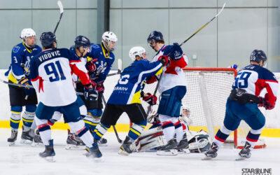HC Slovan Bratislava s HK Spišská Nová Ves – hokejový zápas