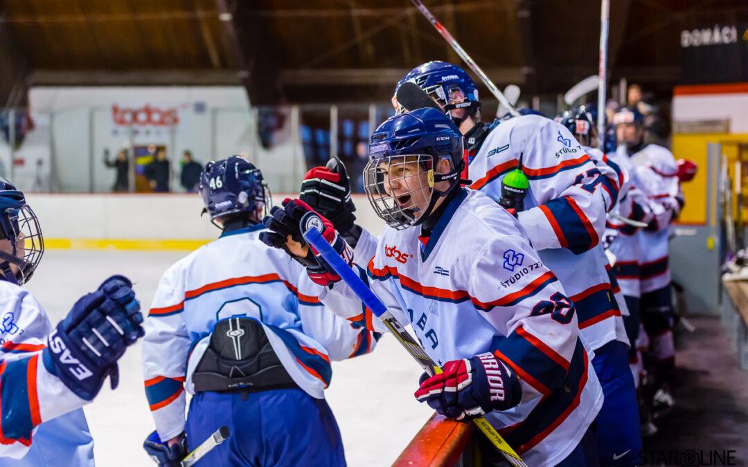 Hokejový zápas HOBA Bratislava – HC ŠKP Bratislava