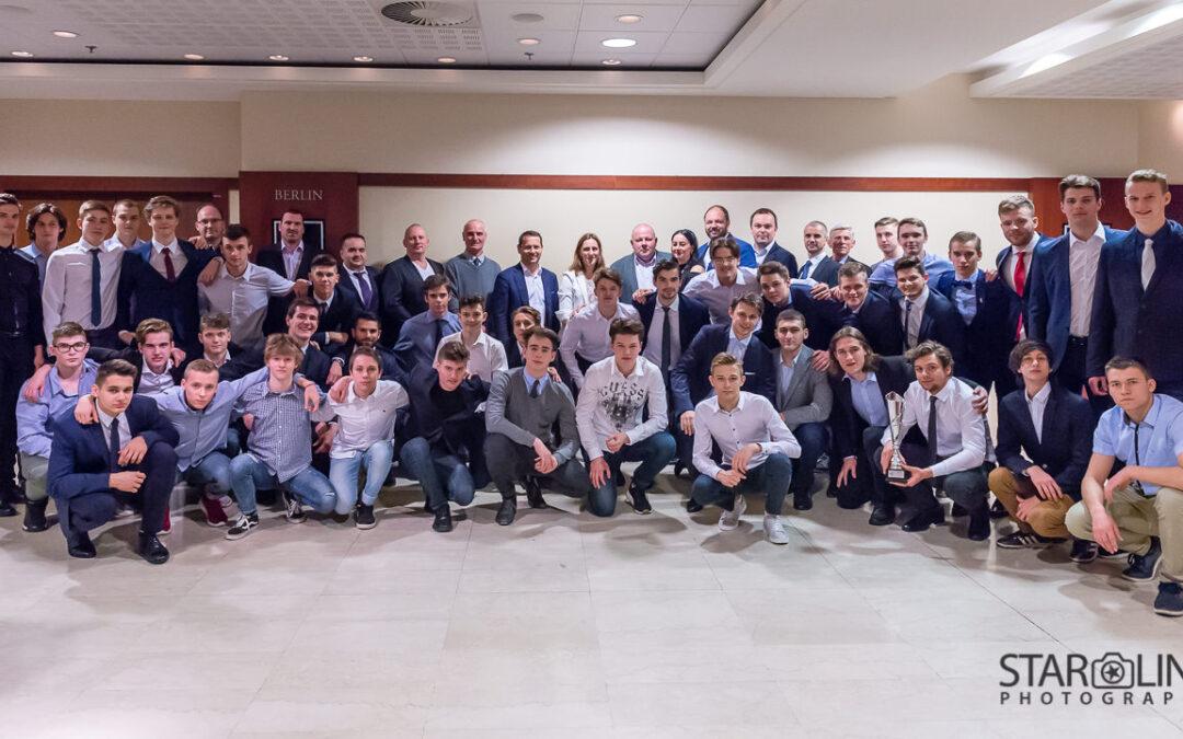 Vyhodnotenie sezóny juniorov a dorastu HOBA Bratislava
