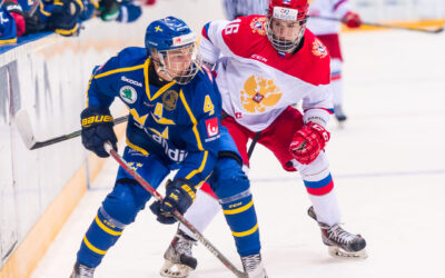 U18 Ivan Hlinka Memorial 2016/2017 Sweden vs Russia