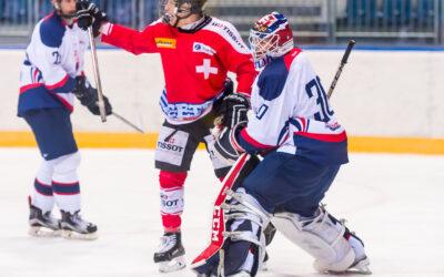 U18 Ivan Hlinka Memorial 2016/2017 Slovakia vs Switzerland