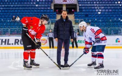 Hokejový zápas Paneuropa Kings Bratislava – Diplomats Pressburg