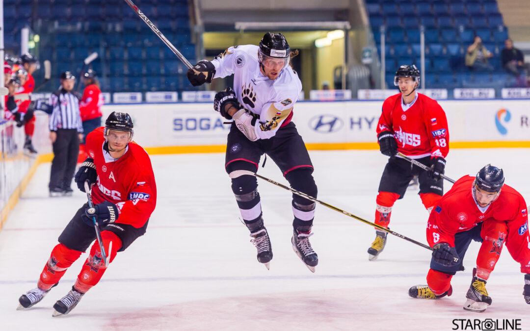 Hokejový zápas Paneuropa Kings Bratislava – HC Masaryk University