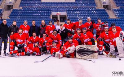 Hokejový zápas Paneuropa Kings Bratislava – UK Praha