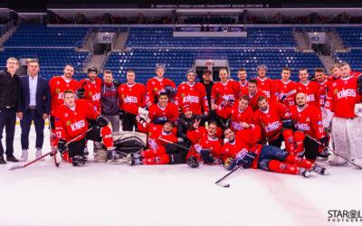 Hokejový zápas Paneuropa Kings – Akademici Plzeň
