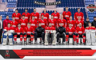 Spoločné foto EUHL tímu Paneuropa Kings 2017/2018