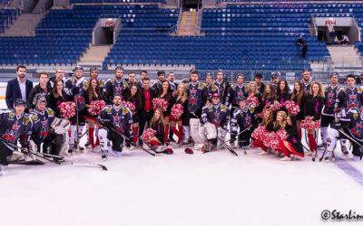 Paneuropa Kings vs UK Praha – hokejový zápas