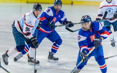 """Extraliga juniorov HOBA Bratislava vs SR """"18"""" – hokejový zápas"""