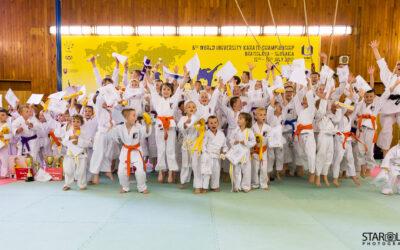 Karatista roka a páskovanie klubu Športovej školy karate  v Bratislave