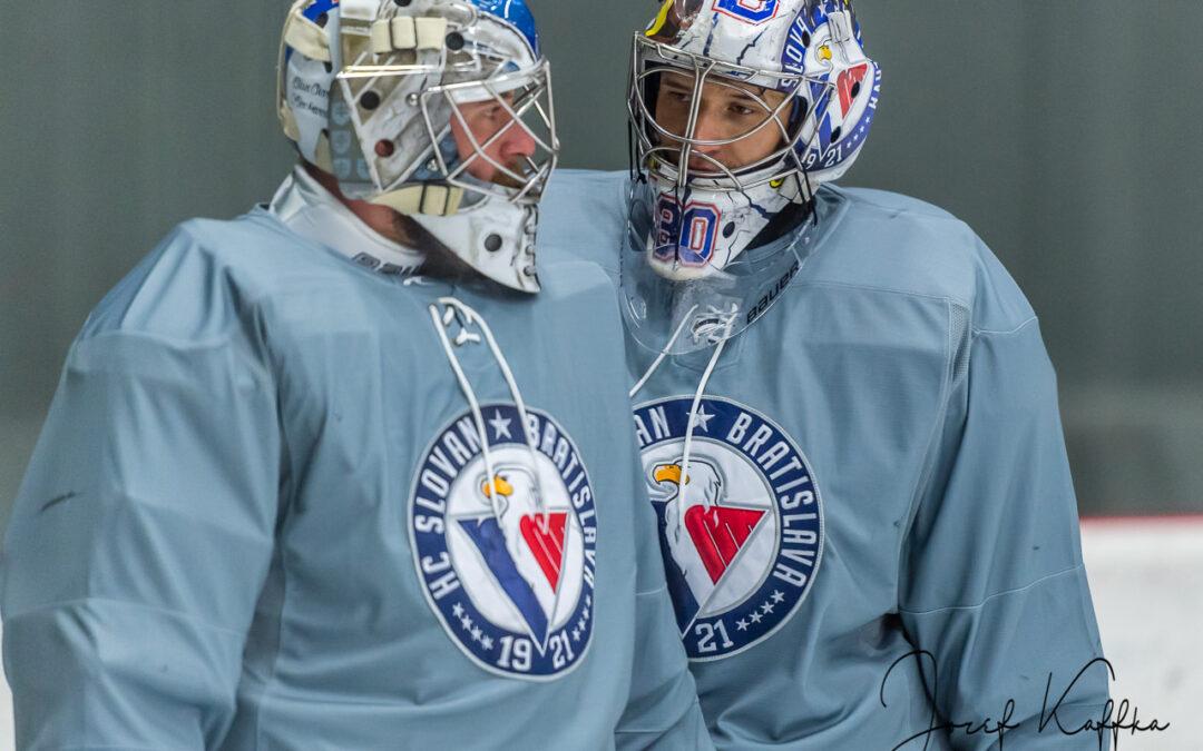 Tréning hokejového klubu HC Slovan Bratislava pred sezónou 2018/2019