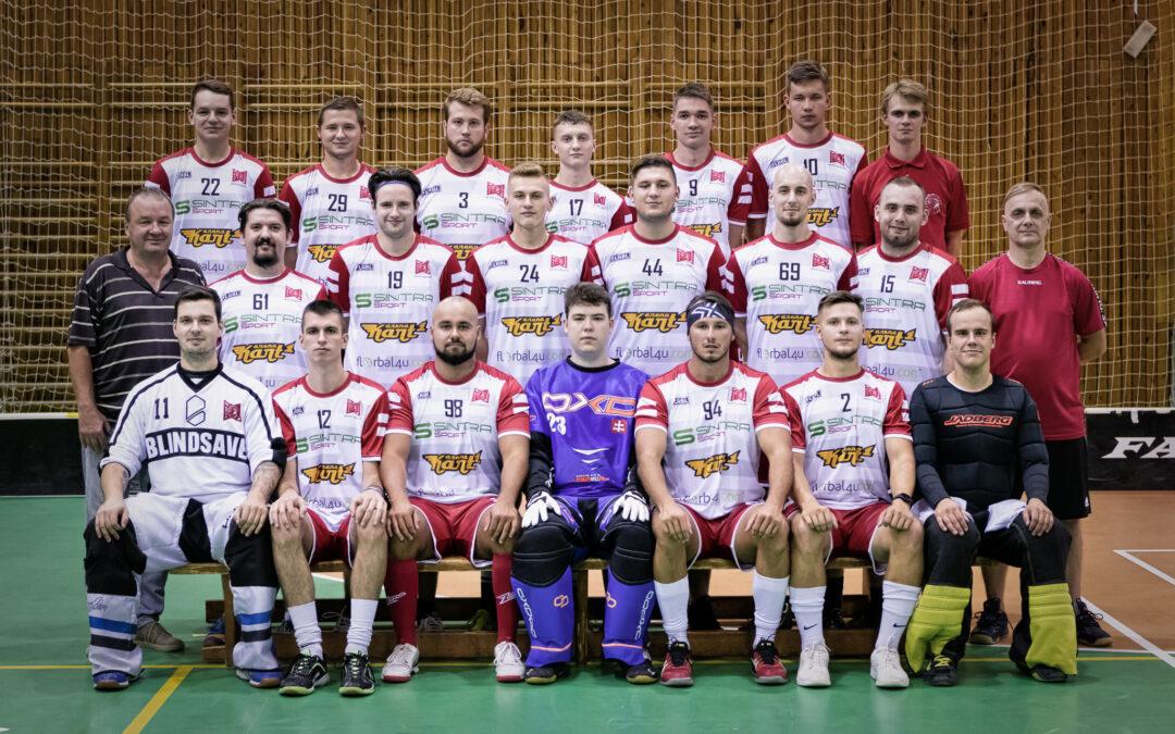Tímové fotenie hráčov FBC White Eagles z 1. ligy mužov