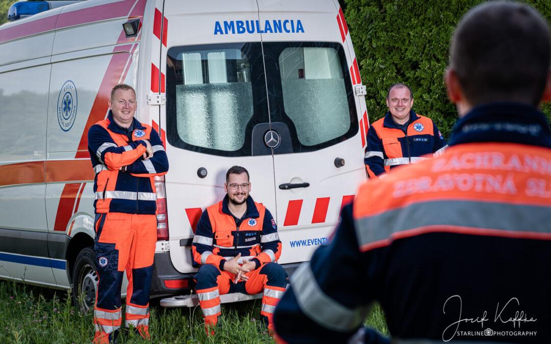 Biznis foto pre Záchranná služba – Event Medical Solutions