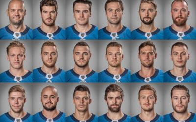 Portréty hráčov KHL A-tímu HC Slovan Bratislava