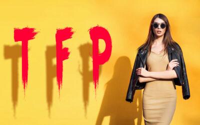 Ponuka fotenia pre modelky a modelov formou TFP